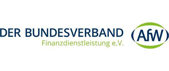 Bundesverband Finanzdienstleistung AfW Logo